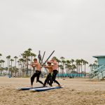 Golden Wave surf school, surf lesson, beginner surfer, surf student, surf school in LA, California, Malibu, Venice surfing lessons, Surfboard & wetsuits rentals.