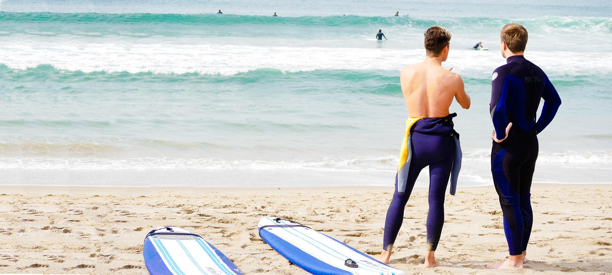 уроки серфинга, лос анджелес, калифорния
